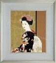 志村立美 美人画 『舞妓』 複製画 送料無料 【複製】【美術印刷】【巨匠】【8号】