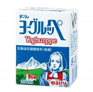 デーリィ ヨーグルッペ 200ml×24本セット 3ケースまとめ買い/送料無料 南日本酪農協同株式会社毎日1本、美味しく手軽に♪
