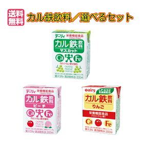 送料無料 デーリィ カル鉄飲料 24本入×選べる3ケースセット南日本酪農協同株式会社毎日1本、美味しく手軽に