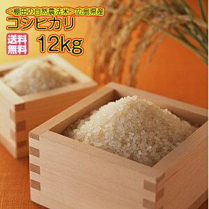 送料無料 福袋 広島県産コシヒカリ10kg 玄米 特別栽培米 新米福袋 10kg 5kg×2袋 に 2kg増量=合計12kgお届け 令和2年産 1等米