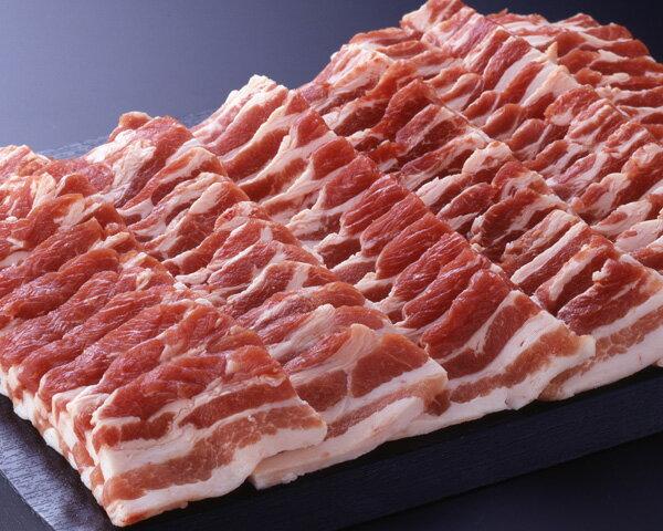 《沖縄県産》あぐー豚 (バラ)焼肉用 500g(CT) 012578