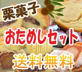 栗菓子 おためしセット【送料無料】