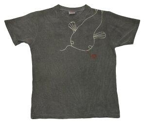 ヘンプコットンTシャツ 糸目なまず