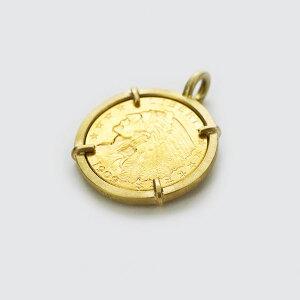 K18 イエローゴールド リバティーコイン ペンダントトップ 日本製ペンダントトップ コイン ゴールド k18 18k 18金 レディース ジュエリー ギフト プレゼント ラッピング 送料無料