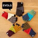 【メール便送料無料】エヴォログ EVOLG スマホ用 手袋 TORI-CO2【スマホ手袋 スマホ対応 スマートフォン対応 防寒 ニ…