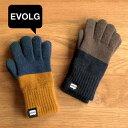 【メール便送料無料】エヴォログ EVOLG スマホ用 手袋 2TON【スマホ手袋 スマホ対応 スマートフォン対応 防寒 日本製 暖かい フリー サイズ ニット メンズ レディース 北欧 テイスト 柄