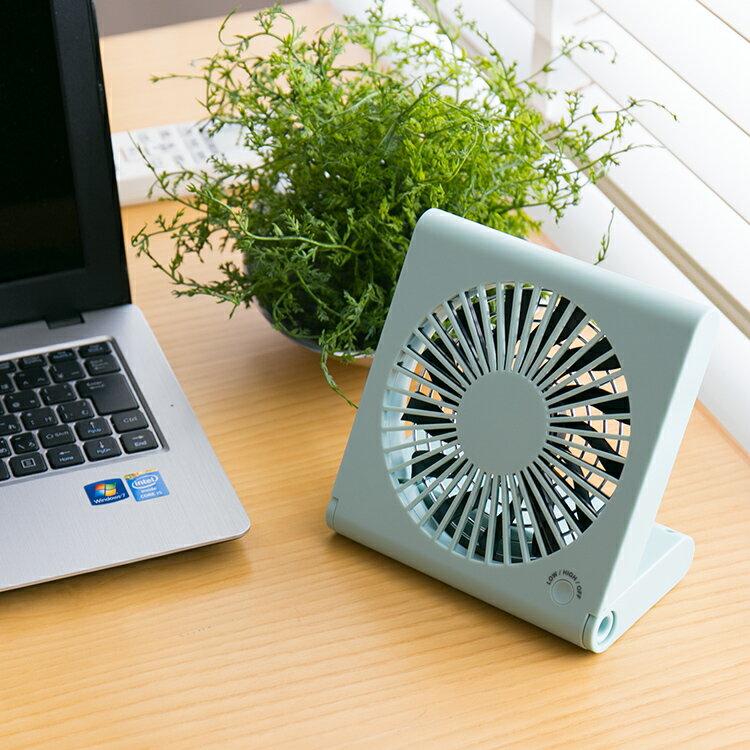 おしゃれ 卓上 扇風機 USB Pieria コンパクト デスクファン ホワイト ブルー TSF-1106U【サーキュレーター ピエリア 扇風機 小型 扇風機 おしゃれ オフィス 電池 コンセント 風量切替 13枚羽 せんぷ うき 夏 涼しい プレゼント】