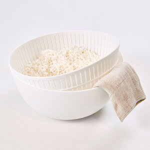 Colander&Bowl 米とぎにも使えるザルとボウル ライクイット【like-it ぼうる ざる 米研ぎ 軽量 プラスチック ボール 白米 キッチン用品 キッチン雑貨 キッチンアイテム 耐熱 そうめん水切り サラ