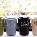 リバーズ ウォールマグデミタ fika フィーカ 290ml【タンブラー 蓋付き 二層構造 プラスチック コップ マグカップ コ…