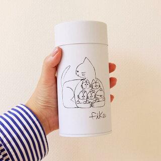 コーヒー缶fika[フィーカ]【キャニスター収納コーヒー缶珈琲缶茶筒保存容器コーヒー紅茶お茶保存キッチン雑貨北欧テイスト猫ネコねこcatかわいいおしゃれシンプル女性ギフトプレゼント引越祝い誕生日】