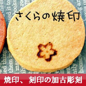 iron stamp (branding iron) ☆ cherry tree ☆ japanese style