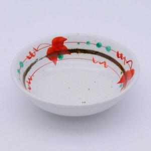【在庫限り】使いやすいサイズがちょうどいい赤絵の小鉢[アウトレット 美濃焼 雑貨 クラフト 手描き オリジナル 個性的 こだわり おかず つまみ 惣菜 一品 和食器 小鉢 ギフト プレゼント