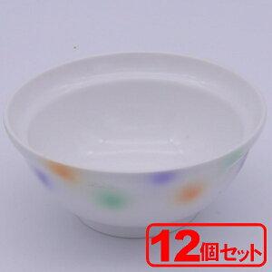 【12個セット】美濃焼 シャボン玉 身丼(小) (飯碗) 約12x5.3cm