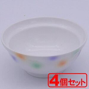 【4個セット】美濃焼 シャボン玉 身丼(小) (飯碗) 約12x5.3cm