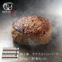 ハンバーグ 温めるだけ 国産 冷凍 送料無料 格之進 ヤケテル金格ハンバーグ (約120g×30個セット) 国産牛 白金豚