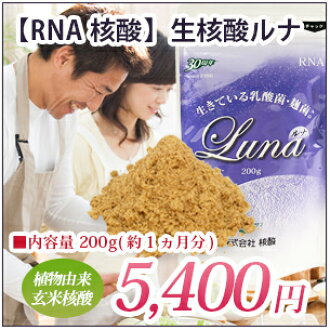 在想保持无农药糙米/发酵糙米纯朴的核酸月神|RNA核酸|每天的健康的糙米核酸