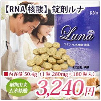 A sweet alcoholic drink made from sake lees present original by the purchase! It is a brown rice nucleic acid for the no pesticide brown rice / fermentation brown rice NEW tablet luna | RNA nucleic acid | daily life who wants to maintain health