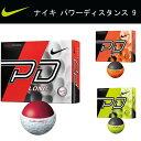 【2015年NEWモデル!】 ナイキ NIKE パワーディスタンス 9 ゴルフボール <1ダース12個入り>日本正規品 【あす楽対応】