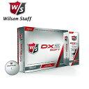 値下げ在庫処分 ウィルソン DX2 ソフト 12個入り 世界で一番柔らかいゴルフボール コンプレッション 29! あす楽対応