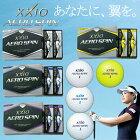 【2014年新商品】ダンロップゼクシオエアロスピンゴルフボール<1ダース12個入り>「XXIOAEROSPIN」【あす楽対応】