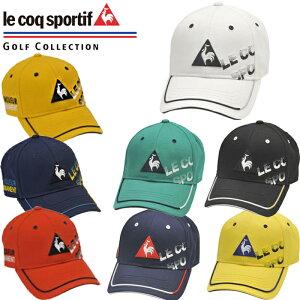 QGBPJC00 le coq sportif ルコックゴルフ シャドーロゴ コットンツイルキャップ メンズキャップ ゴルフキャップ