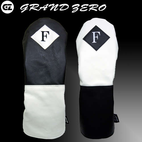 grand zero グランドゼロ ヘッドカバー フェアウェイウッド用 ダイヤル式番手表示 GZH-01F