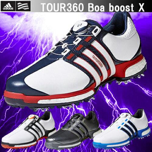2017年モデル 日本正規品 adidas アディダス Tour360 Boa Boost X ツアー360ボアブーストエックス ソフトスパイク ゴルフシューズ