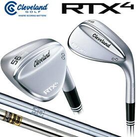 日本正規品 クリーブランド RTX4 ローテックス4 ツアーサテン ウェッジ N.S.PRO950GH ダイナミックゴールド スチールシャフト