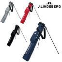 J.LINDEBERG ジェイリンドバーグ 送料無料 セルフスタンドバッグ JL-018RB