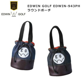 EDWIN-943PH EDWIN GOLF エドウィン ゴルフ ラウンドポーチ