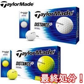 テーラーメイド Taylor Made ディスタンス プラス ゴルフボール 12P DISTANCE+