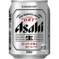 アサヒ スーパードライ 250ml缶 250ML 1本