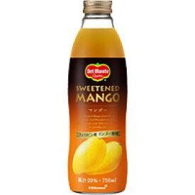 デルモンテ マンゴー (果汁20%) 750ML×6本入り