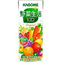 カゴメ 野菜生活100 オリジナルパック 200ML × 24本