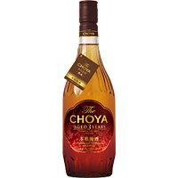 チョーヤ梅酒 The CHOYA Aged 3 Years (三年熟成) 720ML 1本