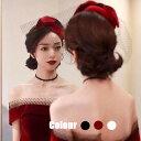 送料無料 カクテル帽 トーク帽 ベール付き トークハット フォーマル ウェディングヘッドドレス 髪飾り 冠婚葬祭 ミニ…