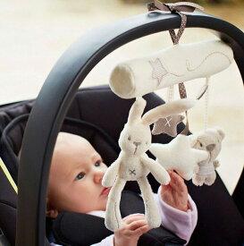 バギーハンギング おもちゃ おでかけおもちゃ ベビーカー 取り付け ベビーベッド ベビー 赤ちゃん エドインター 布製 0歳 男の子 女の子 かわいい タフトイ プレゼント 出産祝い ギフト ベッドメリー