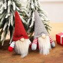 クリスマスツリー 飾り サンタ オーナメント 顔なしサンタ 6個セット ぬいぐるみ おもちゃ 部屋飾り クリスマス雑貨 ツリー用品