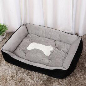 ペットベッド  大型犬 中型犬 小型犬 猫 ペットクッション ふかふか 暖かい 防寒対策 ぐっすり眠る 洗える 滑り止め ペットソファー 猫ハウス ペットベッド 耐久性あり 可愛い 丈夫 四季適用