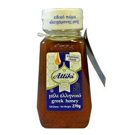 天然 蜂蜜 ハチミツ Attiki アッティキ タイムの花 ペットボトル入り270g ギリシャ産 おいしい | はちみつ greek 濃厚 プレゼント 高級 お土産 ギリシャ 殺菌作用
