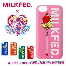 【20%OFF】MILKFED. ミルクフェド×セーラームーン iPhoneケース【MILKFED. X SAILOR MOON SMARTPHONE CASE】スマホケース iPhone6/6S/7/8対応 03191070