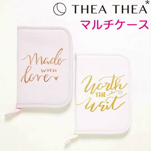 ティアティア Thea Thea 母子手帳ケース マルチケース ベビー 出産祝い ブランド おしゃれ lサイズ ケース かわいい 男の子 女の子 パスポートケース