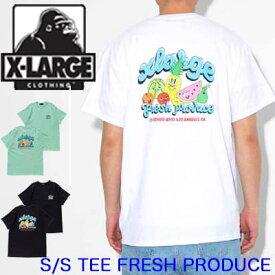 XLARGE エクストララージ Tシャツ 半袖【S/S TEE FRESH PRODUCE】X-LARGE メンズ 01191154