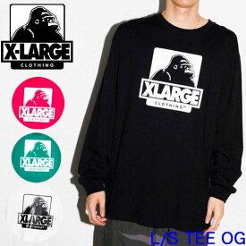 XLARGE エクストララージ 長Tシャツ 長袖【L/S TEE OG】X-LARGE メンズ 01193102