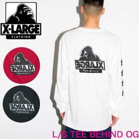 XLARGE エクストララージ 長Tシャツ 長袖【L/S TEE BEHIND OG】X-LARGE メンズ 01193110