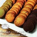 【24時間限定15%OFF】【送料無料】訳ありプレミアム割れクッキー 8種(2枚×24袋入)バターたっぷりでサクサクっと香ば…