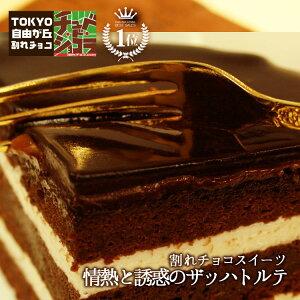 情熱と誘惑のザッハトルテ(ミルク/ビター)チュベ・ド・ショコラ【チョコケーキ】(割れチョコ クーベルチュール)