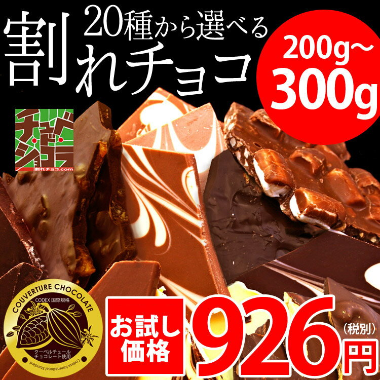【チュベ・ド・ショコラお試し割れチョコ】4つ以上購入で送料無料 20種類から選べる/ラッピング・ギフトバッグ不可/訳あり【宅配便】