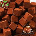 くちどけ生ショコラ(運命の生チョコレート) 生チョコレートをどっさり500gの大容量! 東京 自由が丘のチュベドショコ…