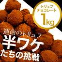 【1kg】トリュフチョコレート 運命のトリュフ-半ワケたちの挑戦-
